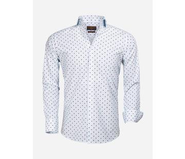 Gaznawi Shirt Long Sleeve 65000 Turquoise Fuchsia