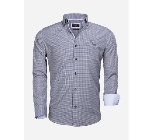 Gaznawi Shirt Long Sleeve 65026 Avellino Navy