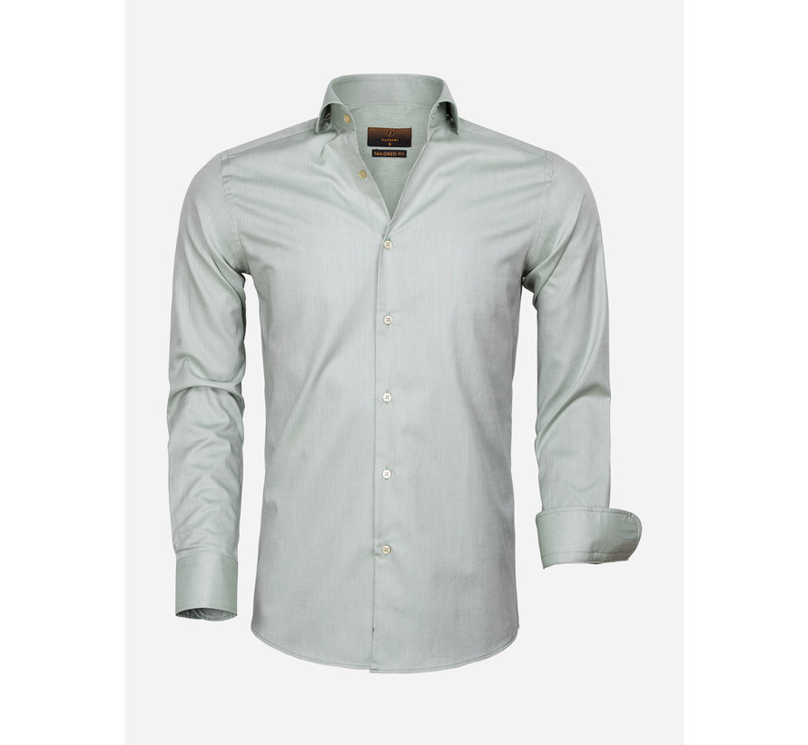 Shirt Long Sleeve 65000 Cagliari Dark Green