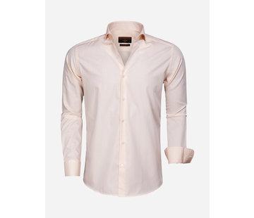 Gaznawi Overhemd Lange Mouw 65000 Cagliari Orange