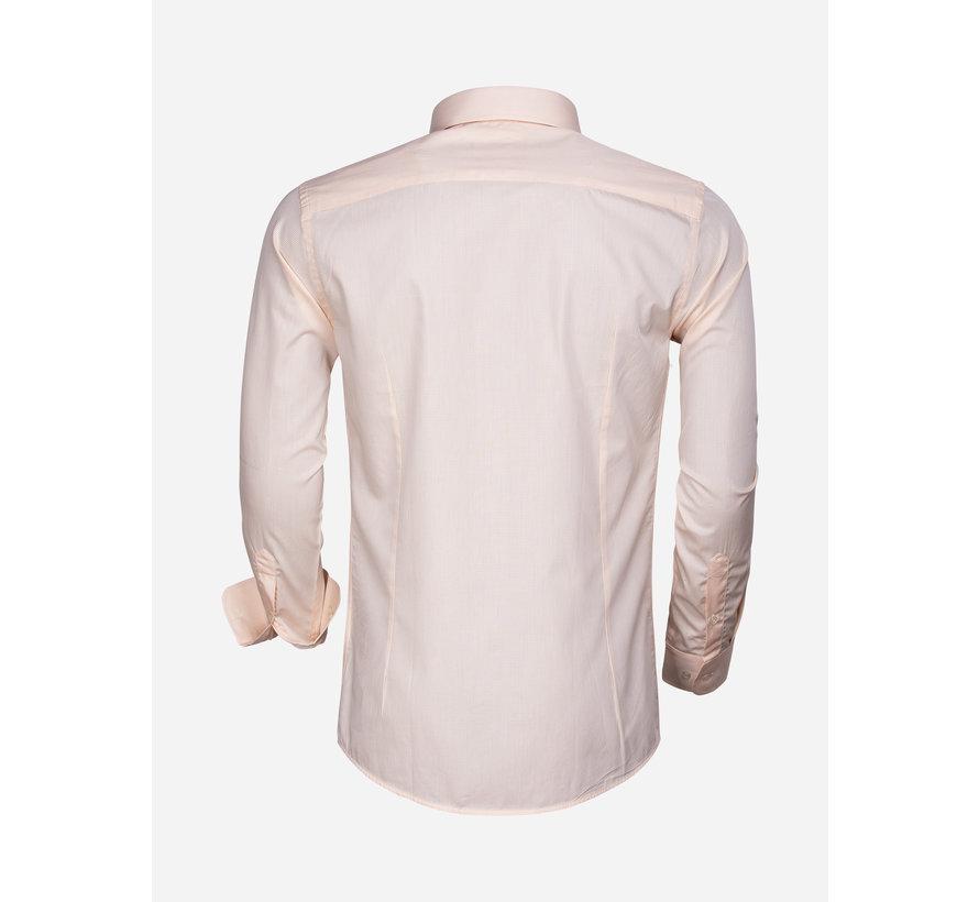 Overhemd Lange Mouw 65000 Cagliari Orange