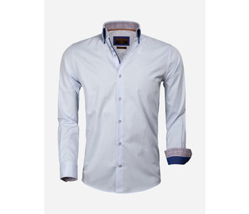 Gaznawi Overhemd Lange Mouw 65005 Cattolica Light Blue