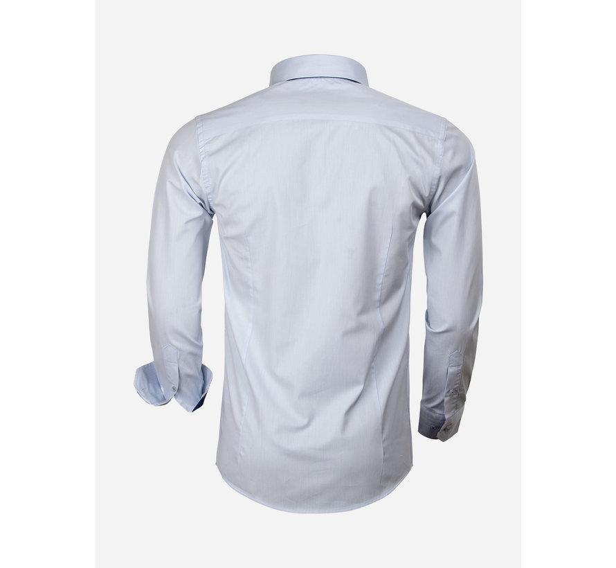 Shirt Long Sleeve 65005 Cattolica Light Blue