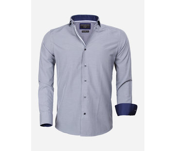 Gaznawi Shirt Long Sleeve 65025 Asti Navy
