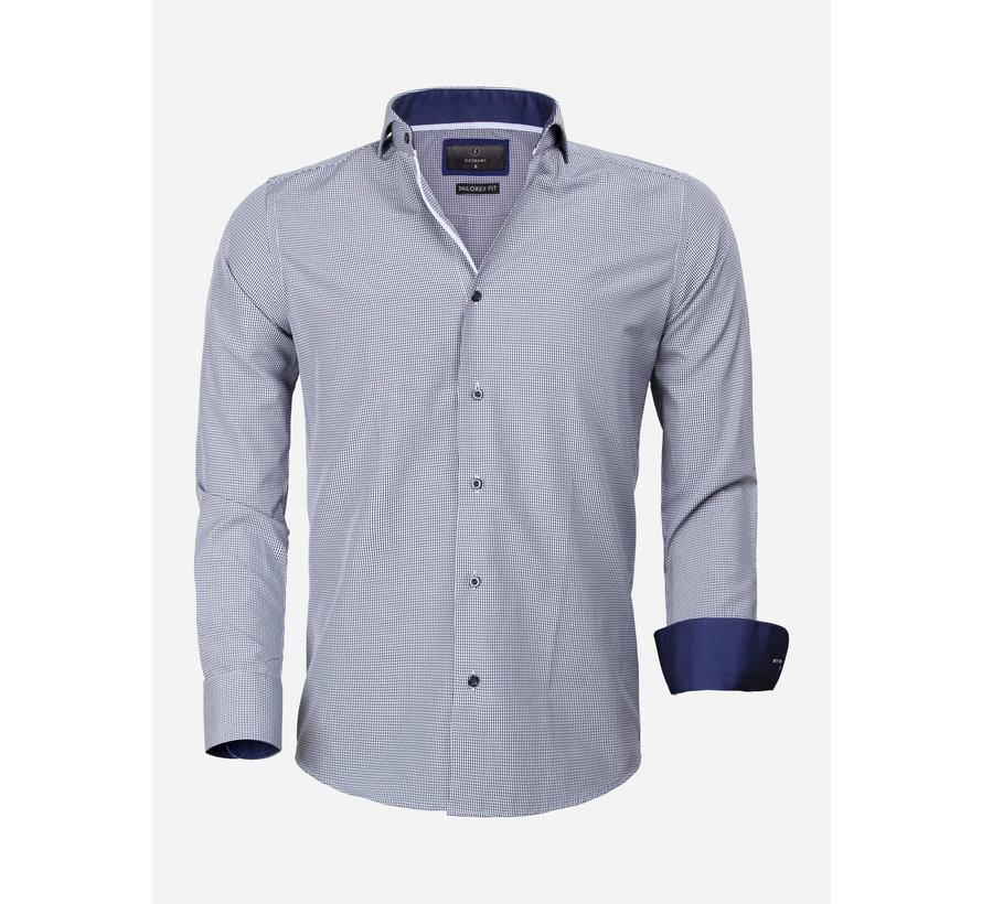Overhemd Lange Mouw 65025 Asti Navy