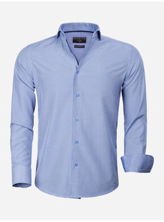 Gaznawi Shirt Long Sleeve 65025 Asti Royal Blue
