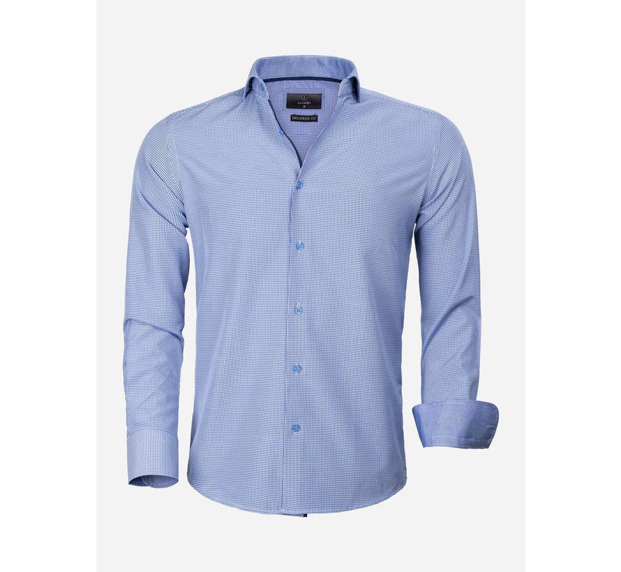 Overhemd Lange Mouw 65025 Asti Royal Blue