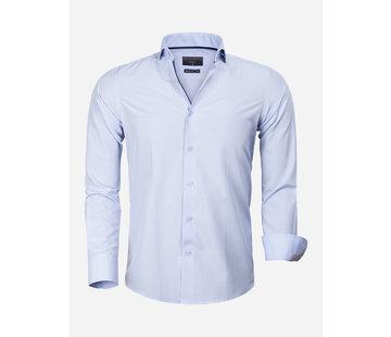 Gaznawi Overhemd Lange Mouw 65025 Asti Blue