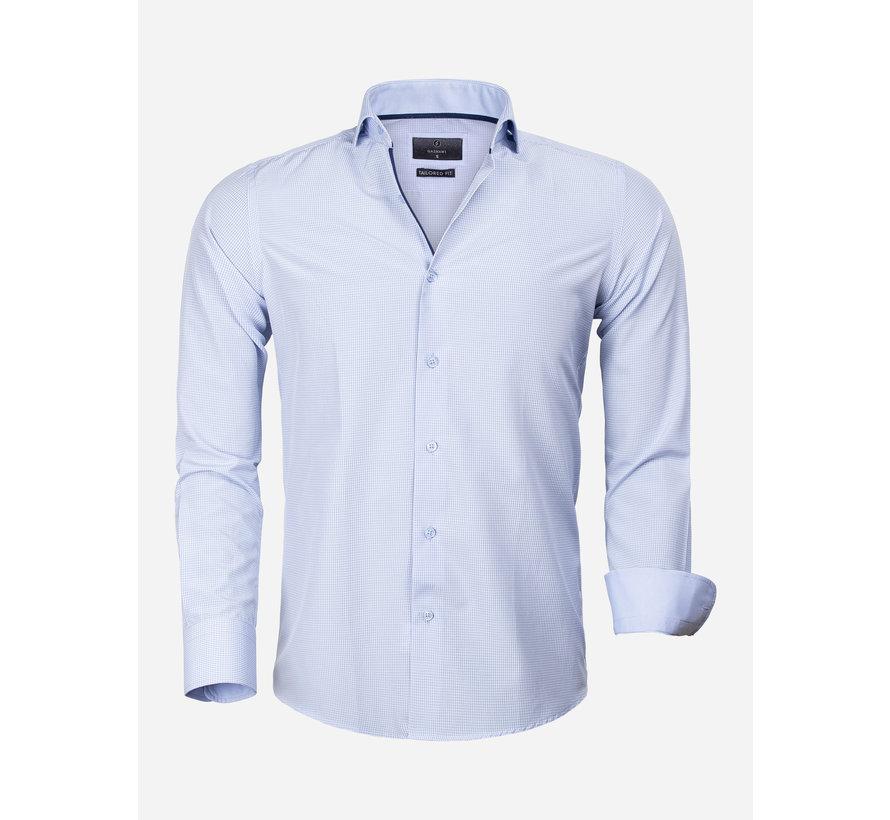 Overhemd Lange Mouw 65025 Asti Blue
