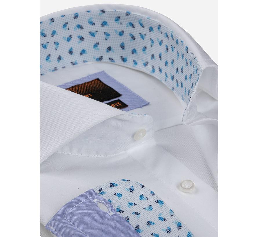 Overhemd Lange Mouw 65006 Catanazaro White