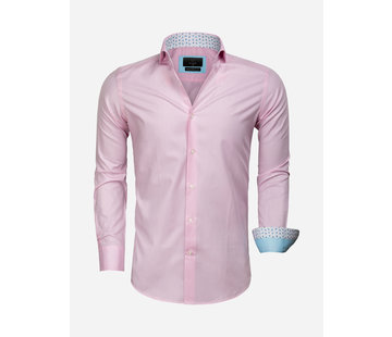 Gaznawi Overhemd Lange Mouw 65006 Catanazaro Pink