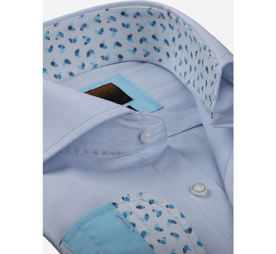 Overhemd Lange Mouw 65006 Catanazaro Light Blue