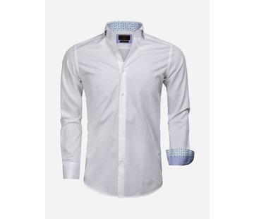 Gaznawi Shirt Long Sleeve 65006 Catanazaro White