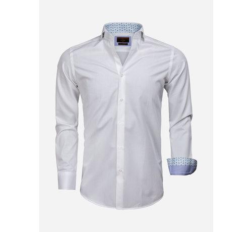 Gaznawi Overhemd Lange Mouw 65006 Catanazaro White