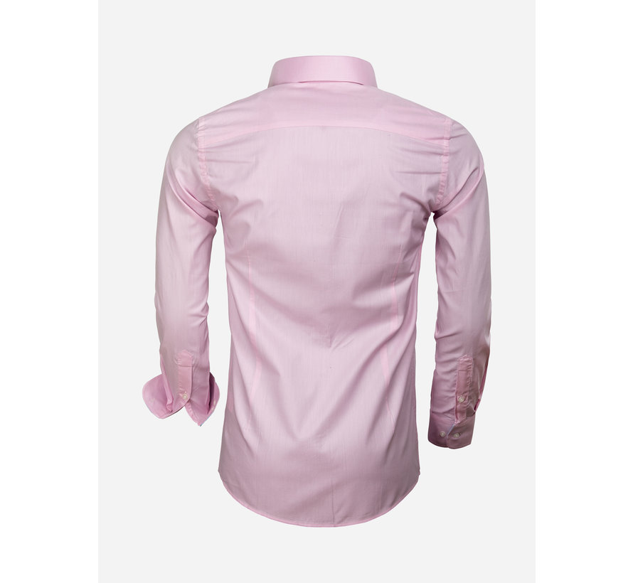 Overhemd Lange Mouw 65006 Catanazaro Pink