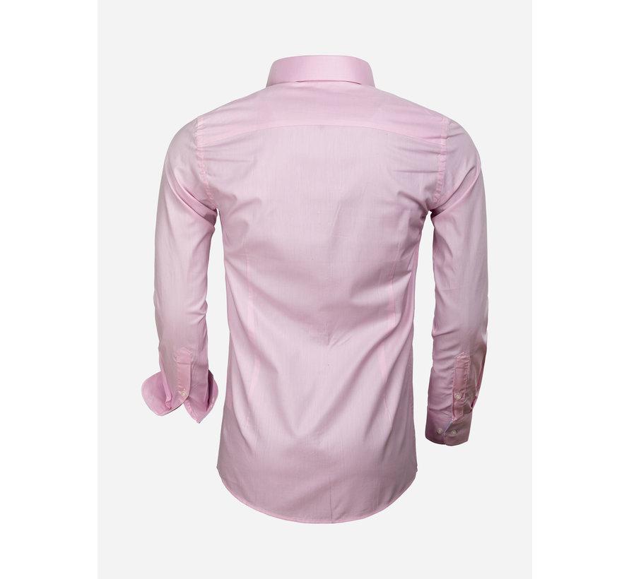 Shirt Long Sleeve 65006 Catanazaro Pink