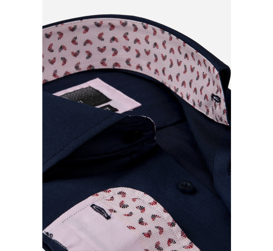 Overhemd Lange Mouw 65006 Catanazaro Navy