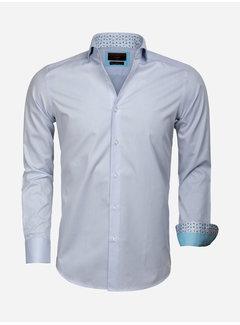Gaznawi Overhemd Lange Mouw 65006 Catanazaro Light Blue