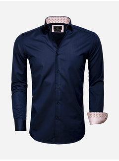 Gaznawi Shirt Long Sleeve 65006 Catanazaro Navy