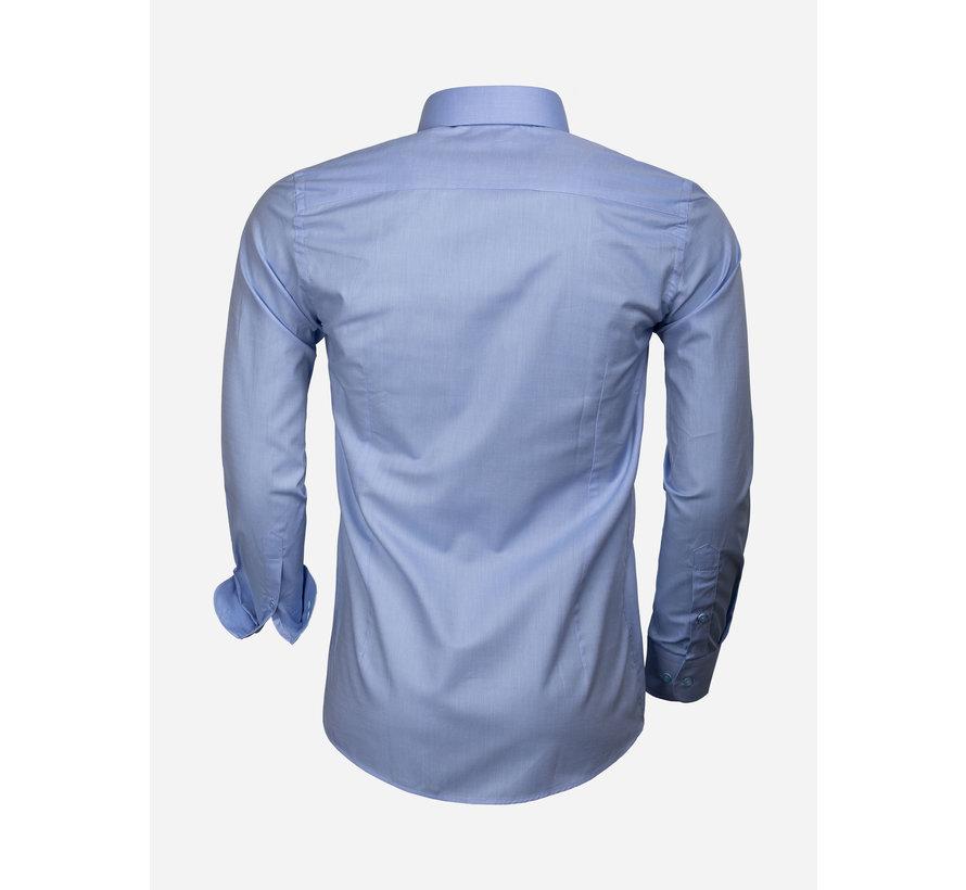 Shirt Long Sleeve 65006 Catanazaro Blue