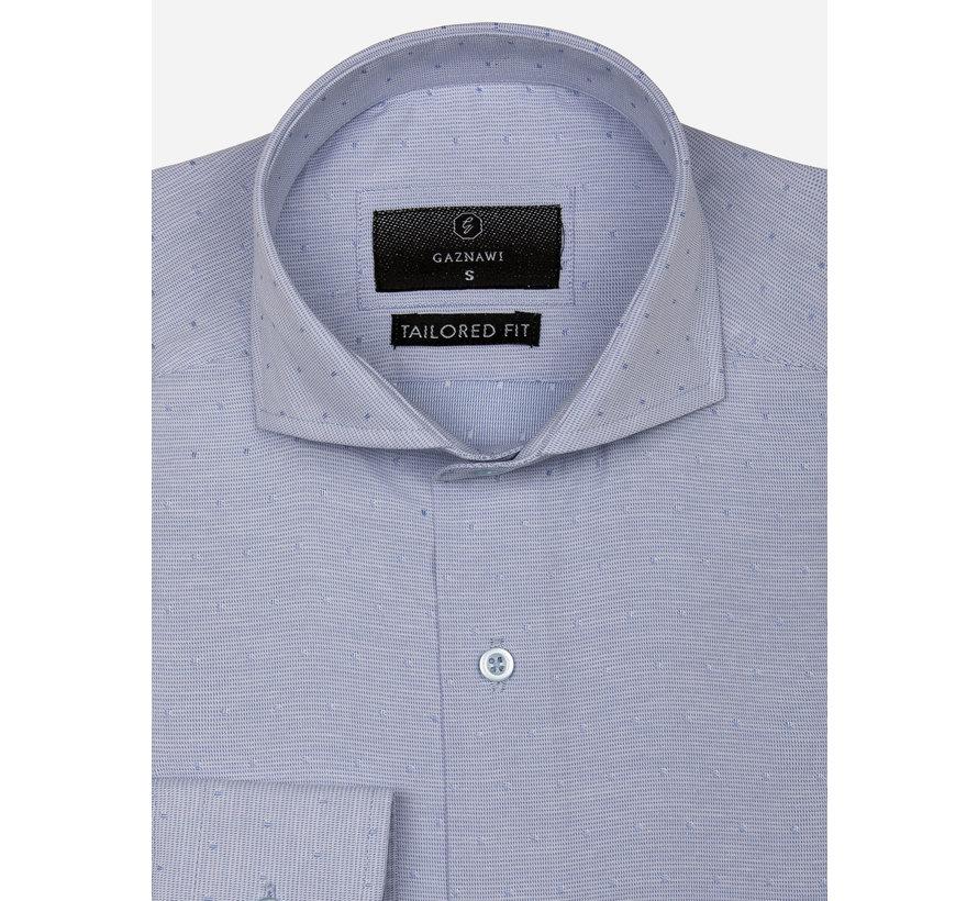 Overhemd Lange Mouw 65019 Alessandria Blue