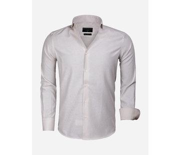 Gaznawi Overhemd Lange Mouw 65019 Alessandria Beige