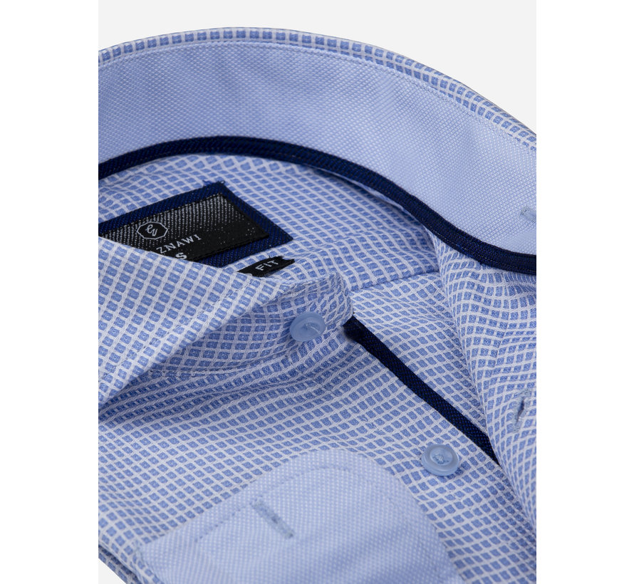 Shirt Long Sleeve 65024 Arezzo Blue