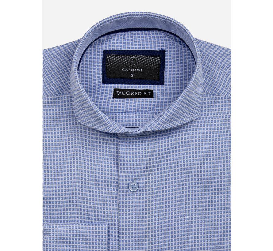 Overhemd Lange Mouw 65024 Arezzo Blue