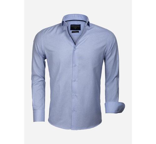 Gaznawi Overhemd Lange Mouw 65024 Arezzo Blue