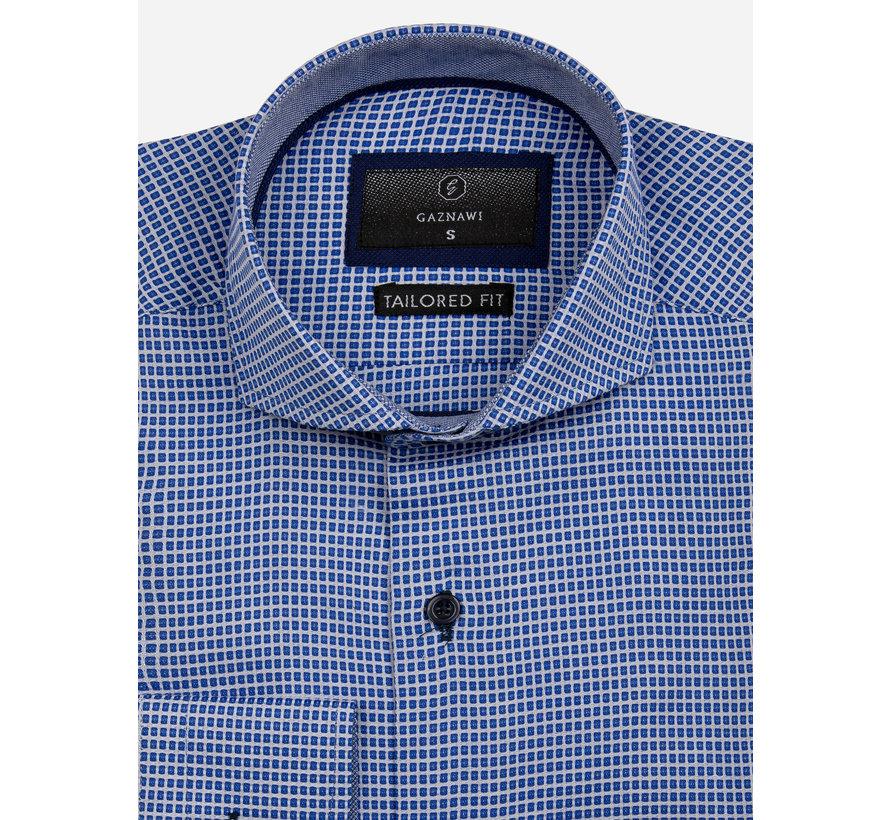 Overhemd Lange Mouw 65024 Arezzo Royal Blue