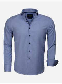 Gaznawi Shirt Long Sleeve 65024 Arezzo Royal Blue