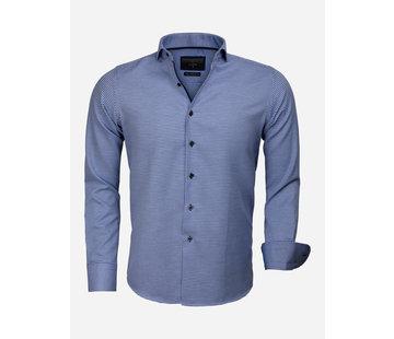 Gaznawi Overhemd Lange Mouw 65024 Arezzo Royal Blue