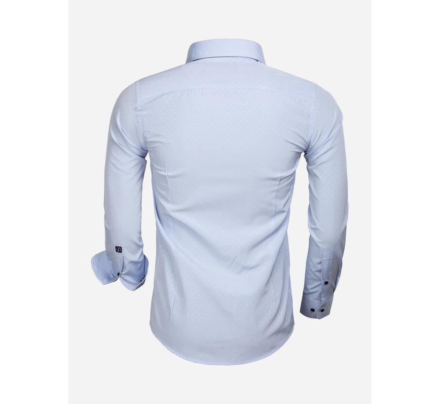 Shirt Long Sleeve 65033 Cremona Blue