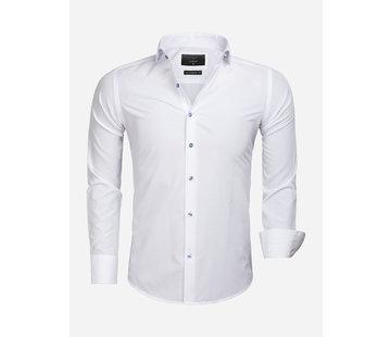 Gaznawi Overhemd Lange Mouw 65033 Cremona White