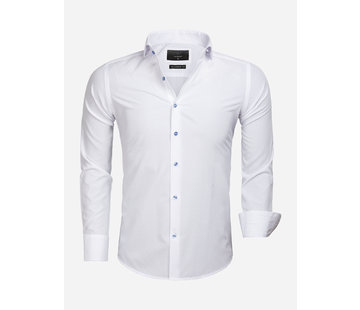 Gaznawi Shirt Long Sleeve 65033 Cremona White