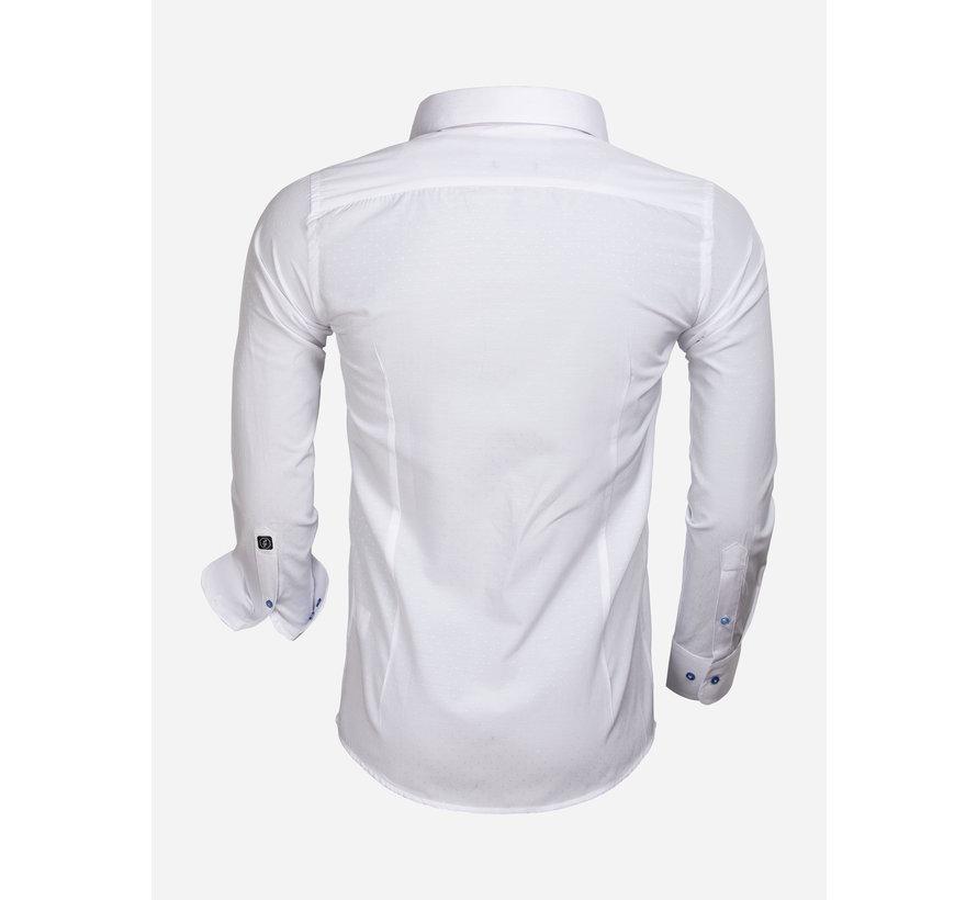 Shirt Long Sleeve 65033 Cremona White