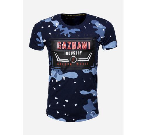 Gaznawi T-Shirt 69069 Navy