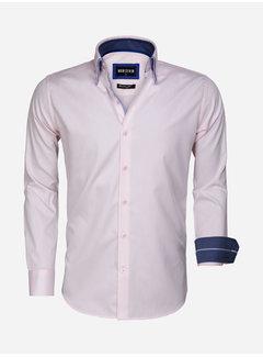 Wam Denim Overhemd Lange Mouw 75546 Agrigento Pink
