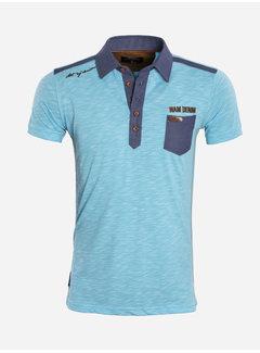 Wam Denim T-Shirt 79430 Oceanside Turquoise