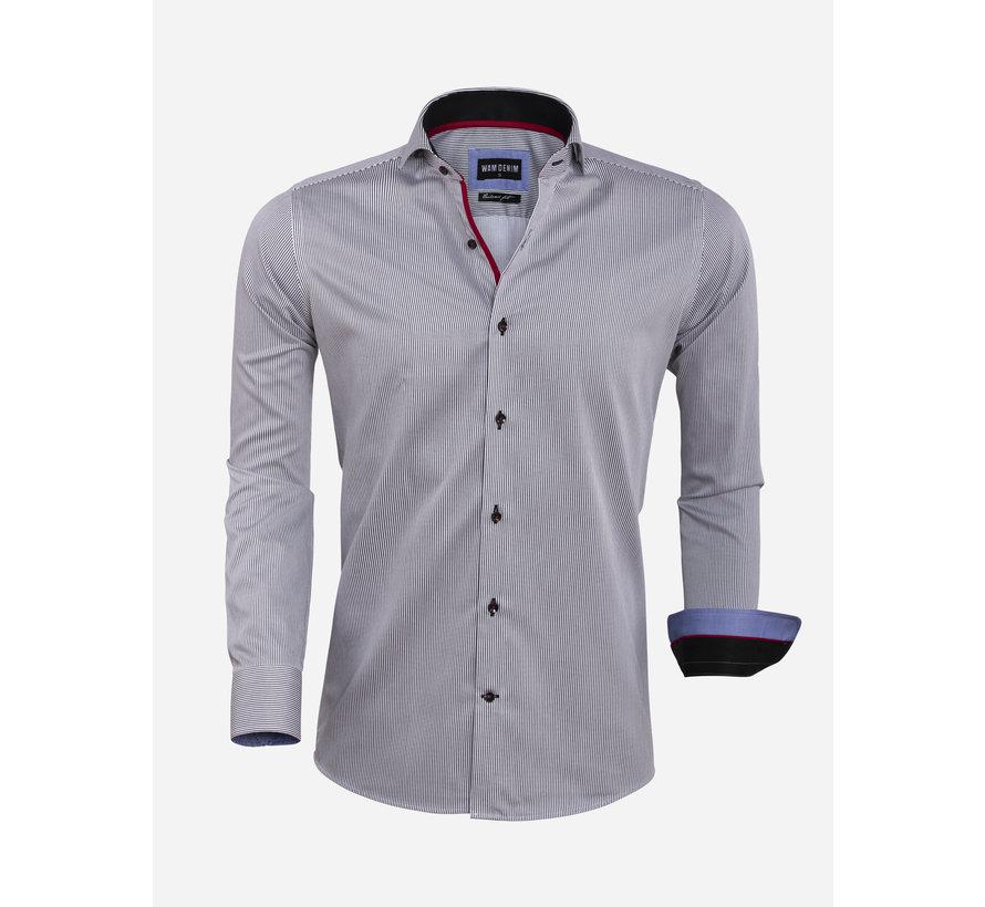 Overhemd Lange Mouw 75571 Black