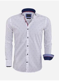 Wam Denim Overhemd Lange Mouw 75571 White