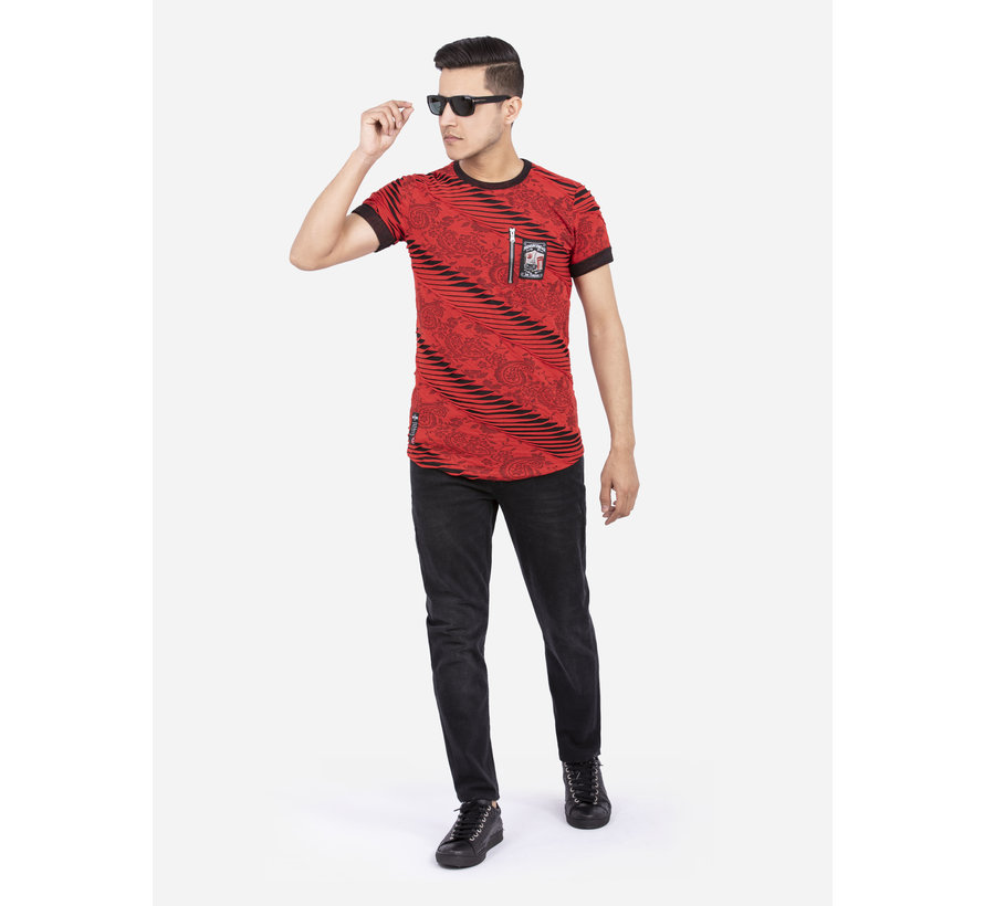 T-Shirt 79405 Red