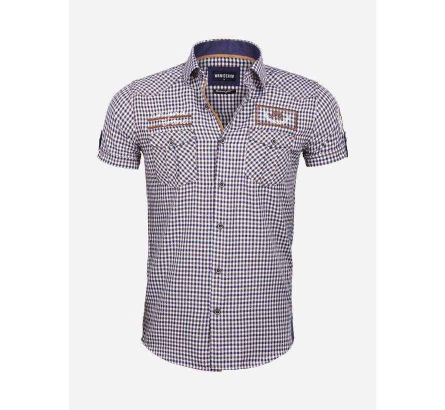 Overhemd Korte Mouw 75572 Traviso Peru