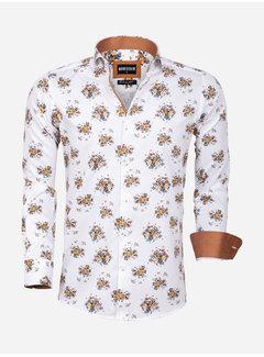Wam Denim Shirt Long Sleeve 75577 Sassari White