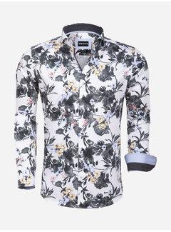 Wam Denim Overhemd  Lange Mouw 75578 Spoleto White