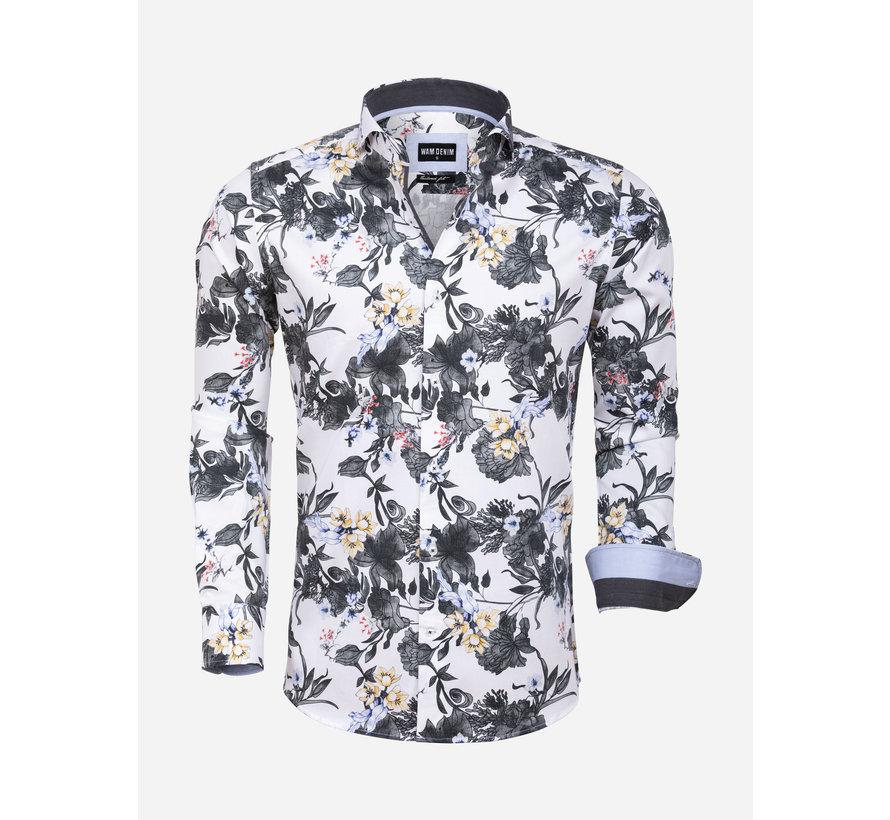 Shirt Long Sleeve 75578 Spoleto White