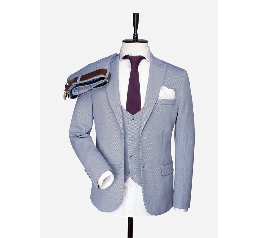 Pantalon 70028 Ferrara Blue