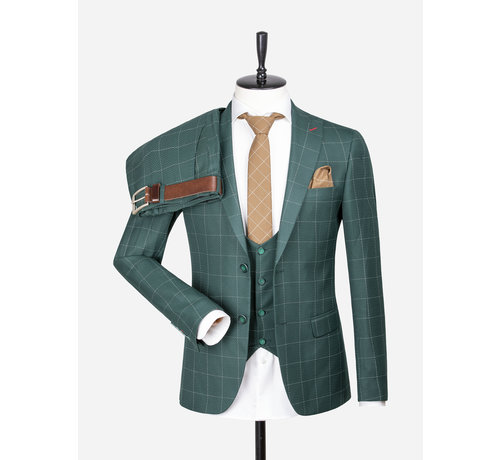 Wam Denim Pantalon 70029 Capri Green