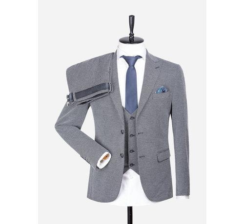Wam Denim Jacket 70042 Parma Gala Black White