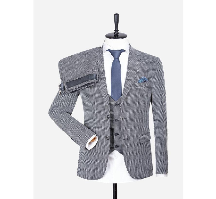 Pantalon 70042 Parma Gala Black White